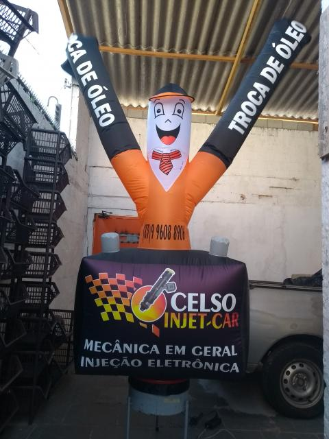 Boneco do posto personalisado CELSO INJET-CAR - 520